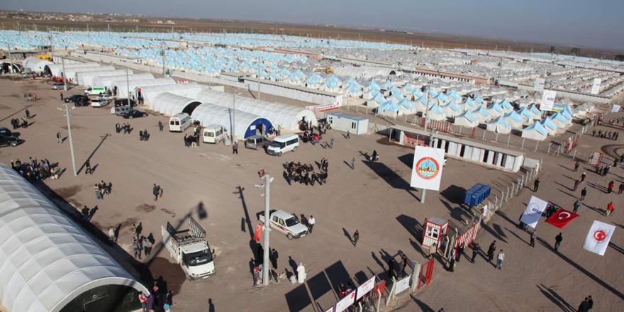5 ayrı kampta 33 bin Suriyeli var