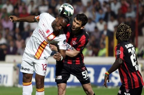 Puanı kazanan Galatasaray Parayı kazanan Gaziantep 0-1