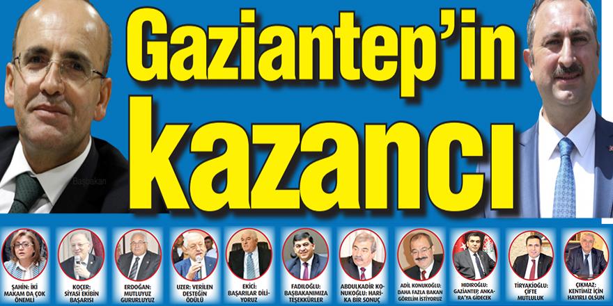 Gaziantep'in kazancı
