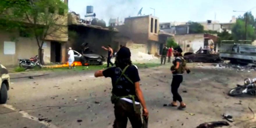 İdlip'te intihar saldırısı