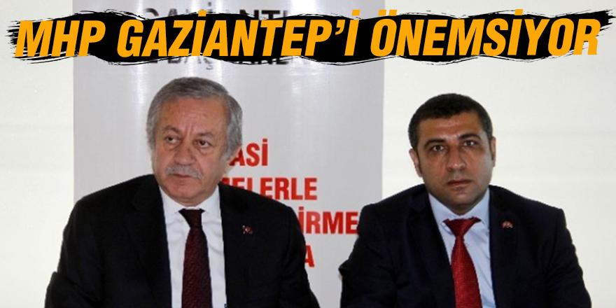 MHP Gaziantep'i önemsiyor