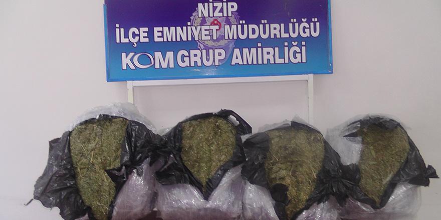 Gaziantep'te 50 kilo uyuşturucu ele geçirildi