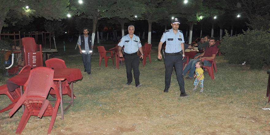 Parklarda mobil polis
