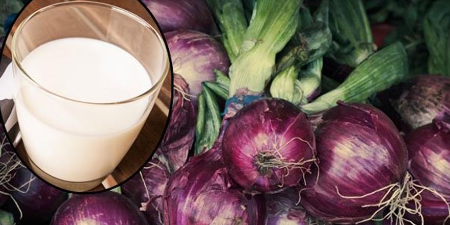 Mor Soğan ve Süt Karışımı Mucizesi