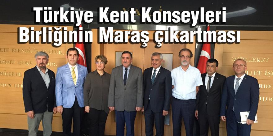 Türkiye Kent Konseyleri Birliğinin Maraş çıkartması