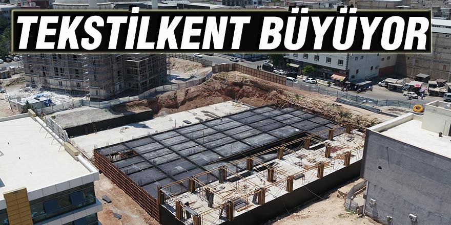 Tekstilkent büyüyor