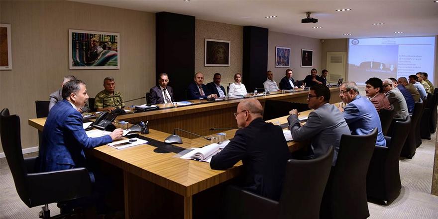 İl Spor Güvenliği Toplantısı Yapıldı