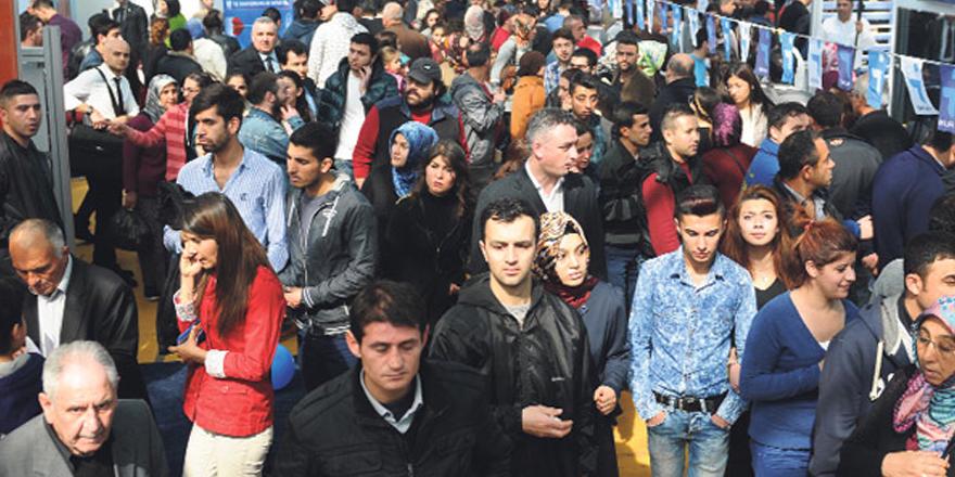 3 milyon kişi işsiz
