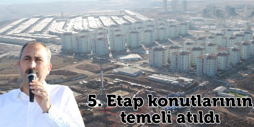 Bakan Gül, Mavikent 5. etap konutlarının temelini attı