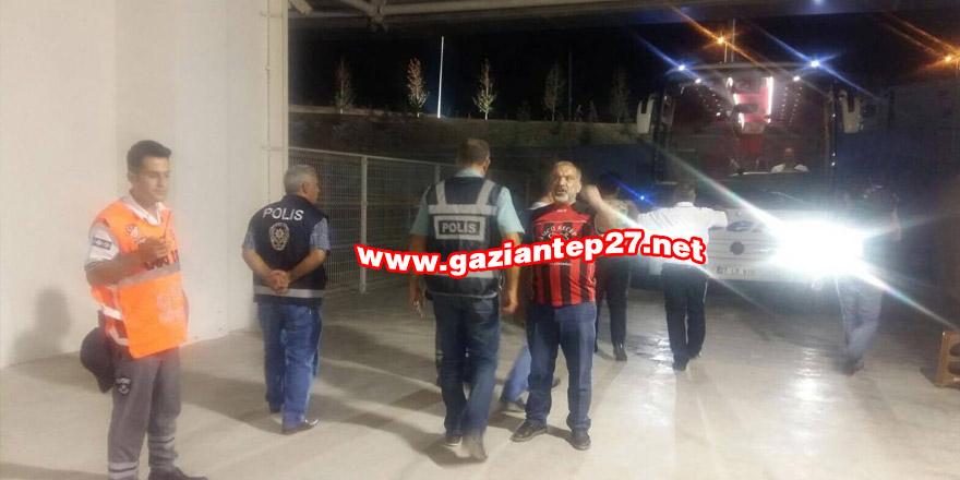 Gaziantepspor'a arama şoku