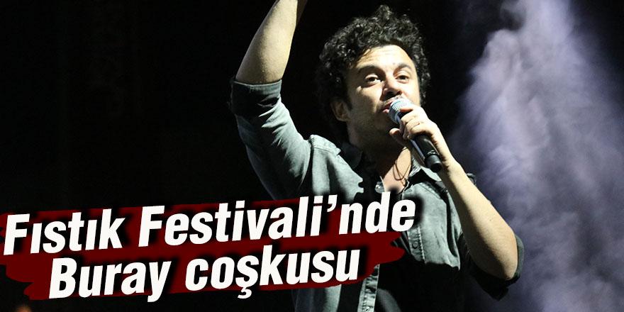 Fıstık Festivali'nde Buray coşkusu