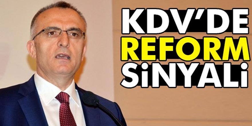 Maliye Bakanı Ağbal'dan KDV'de yeni düzenleme sinyali