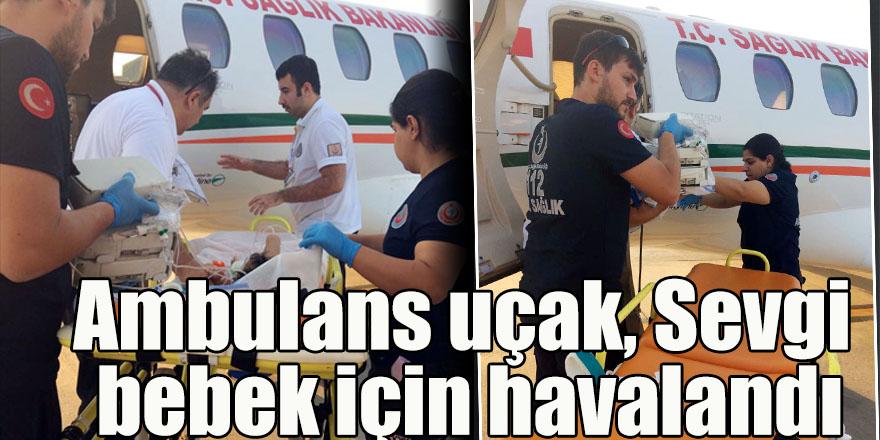 Ambulans uçak, Sevgi bebek için havalandı