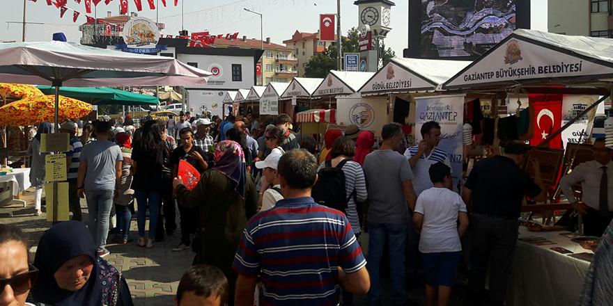 Gaziantep standına büyük ilgi
