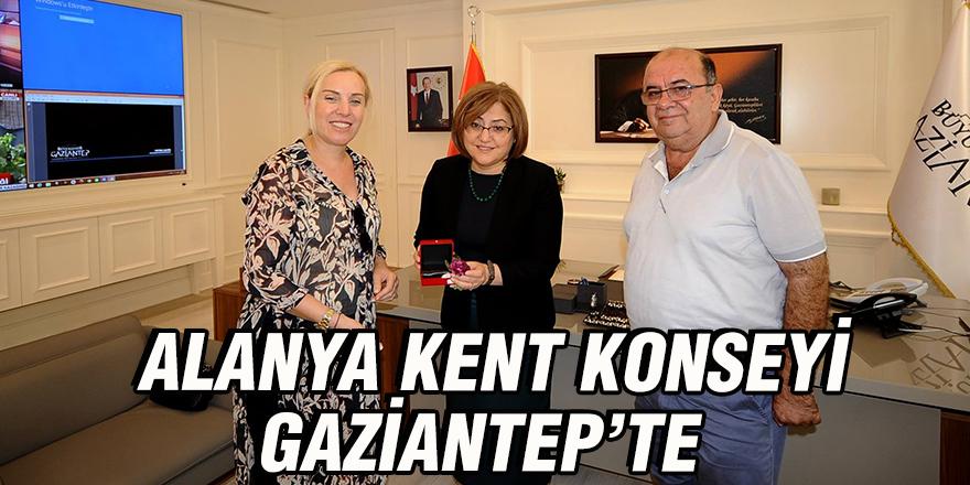 Alanya Kent Konseyi Gaziantep'te