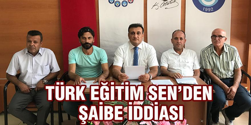 Türk Eğitim Sen'den şaibe iddiası