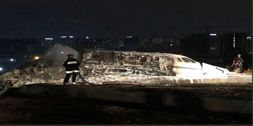 Düşen uçak Sanko nun sattığı uçakmış