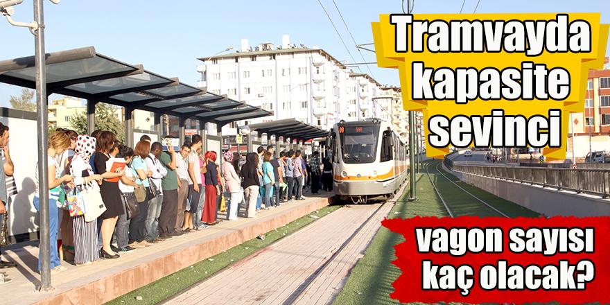 Tramvayda kapasite sevinci