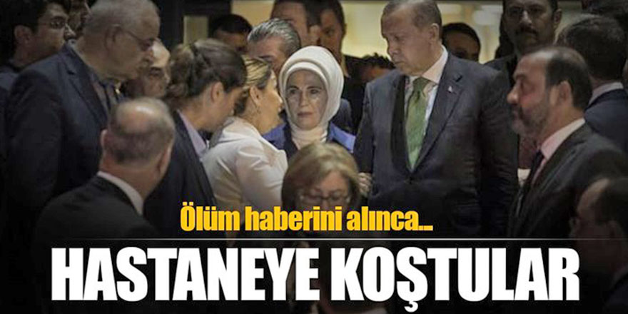 Cumhurbaşkanı Erdoğan, Başbakan Yıldırım ve bakanlardan taziye ziyareti