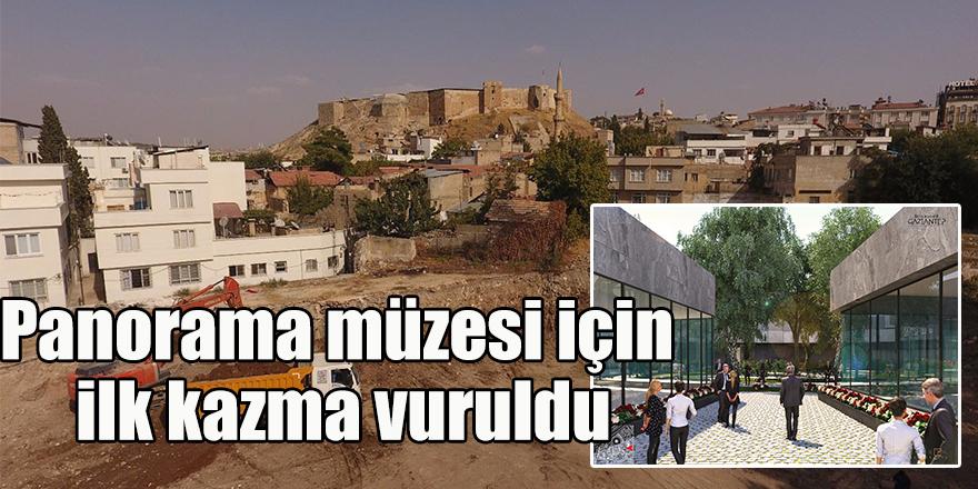 Panorama müzesi için ilk kazma vuruldu