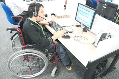 Gaziantep'te engelli istihdamı arttı
