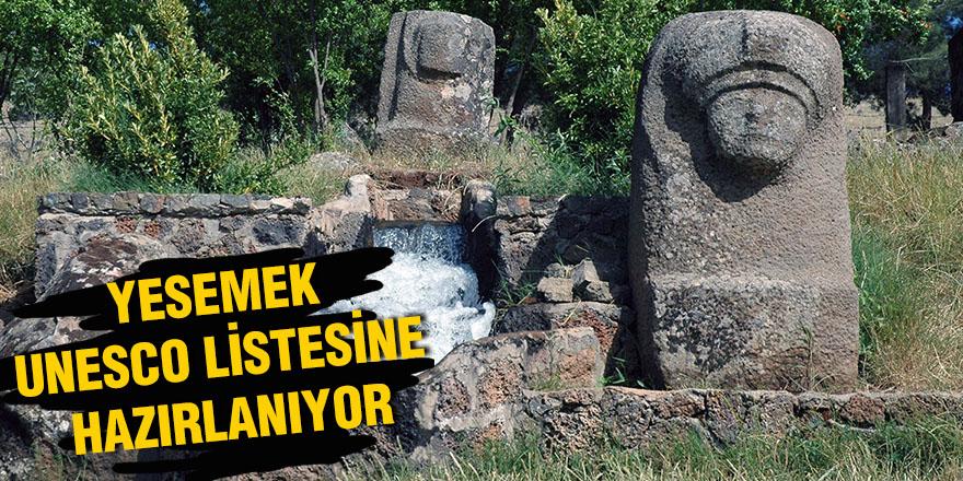 Yesemek Unesco listesine hazırlanıyor