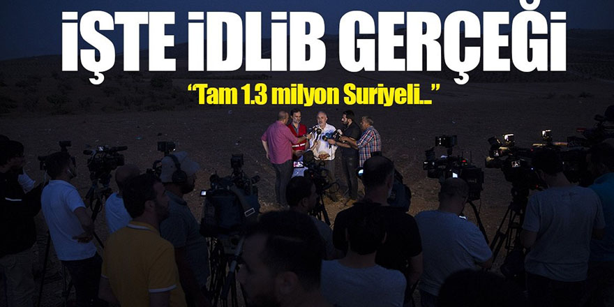 """""""Suriyeliler Türkiye'nin İdlib operasyonundan memnun"""""""
