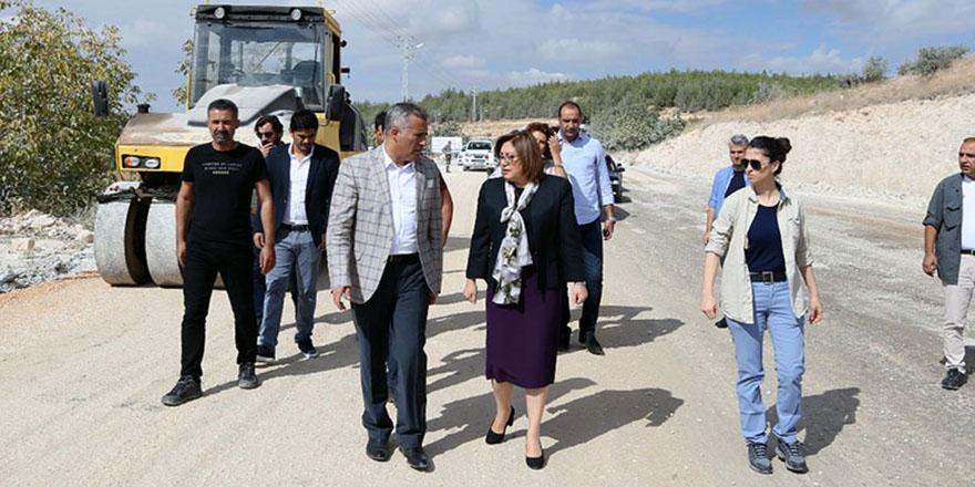 Eski Nizip yolu genişledi