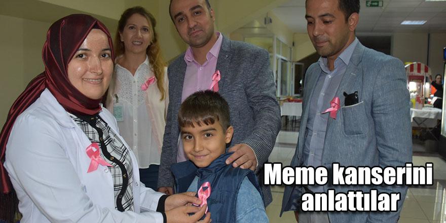 Meme kanserini anlattılar
