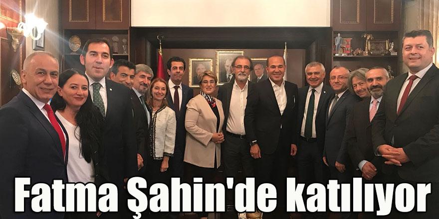 Fatma Şahin'de katılıyor