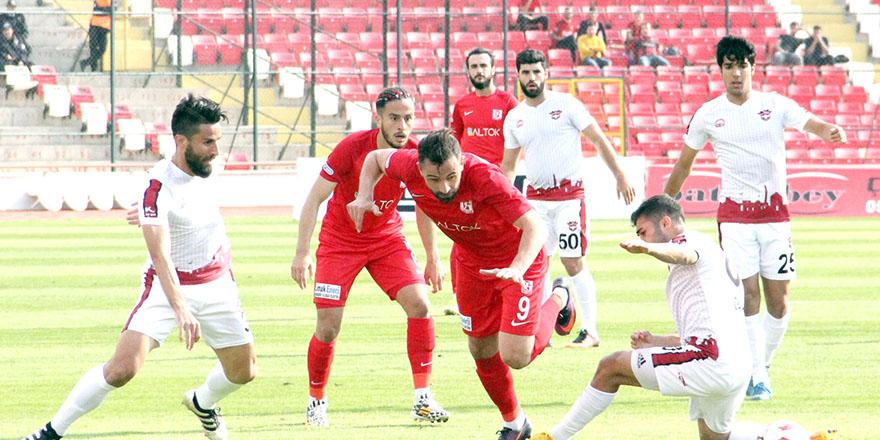 İstatistiklerde Balıkesirspor – Gaziantepspor maçı