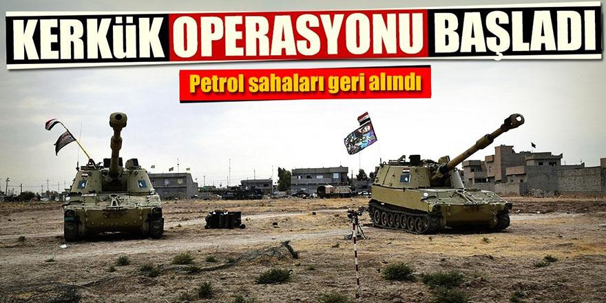 Irak ordusu Kerkük'e operasyon başlattı!