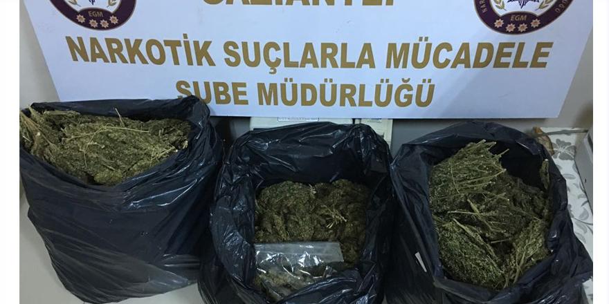 20 kilogram uyuşturucu ele geçirildi