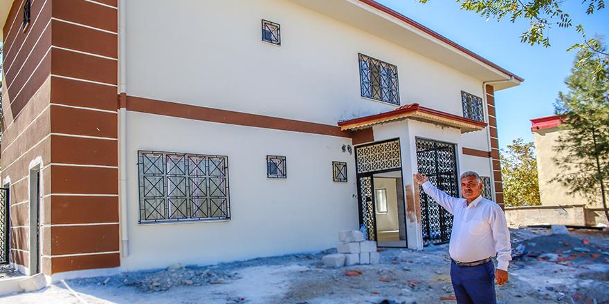 Üçgöz'e taziye evi