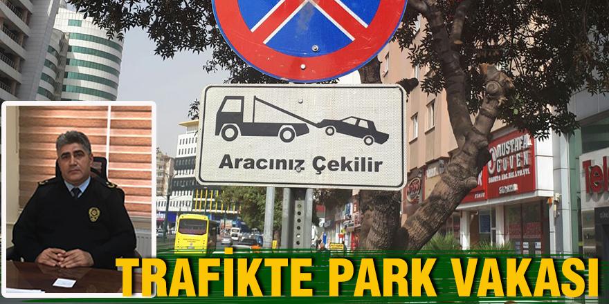 Trafikte park vakası