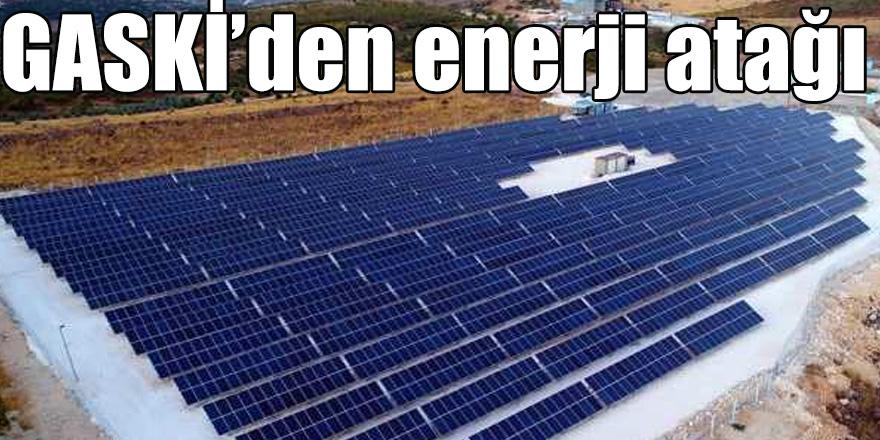 GASKİ'den enerji atağı