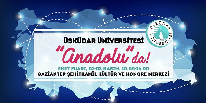 Üsküdar Üniversitesi, adaylarıyla buluştu