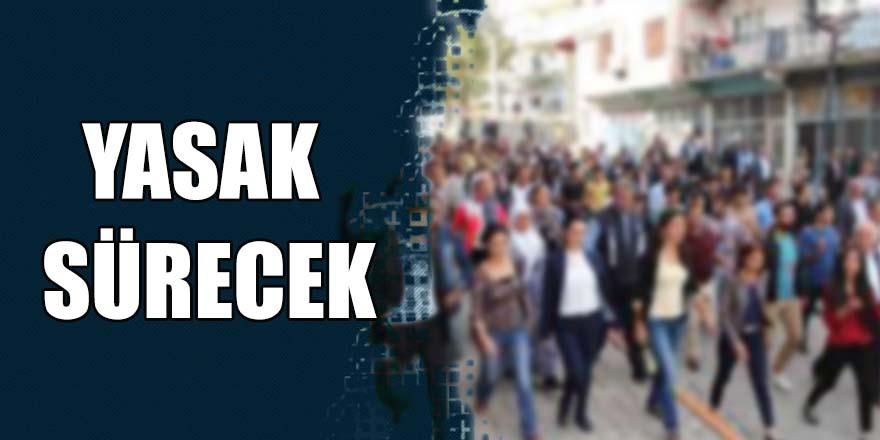 Gaziantep'te toplantı ve yürüyüş yasağı