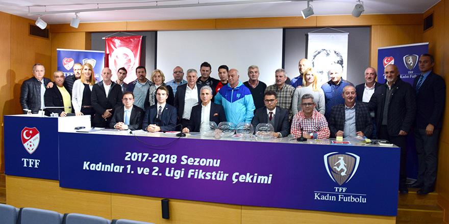 Kadınlar futbol liginde fikstür açıklandı