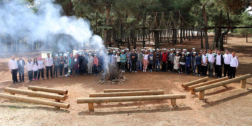 Gençlik kampı gençlik meclisi üyelerini misafir etti