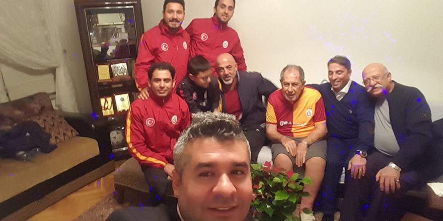 Talat Özkarslı'ya vefa ziyareti