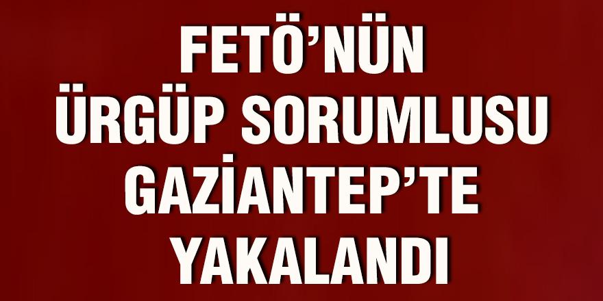 FETÖ'nün Ürgüp sorumlusu Gaziantep'te yakalandı