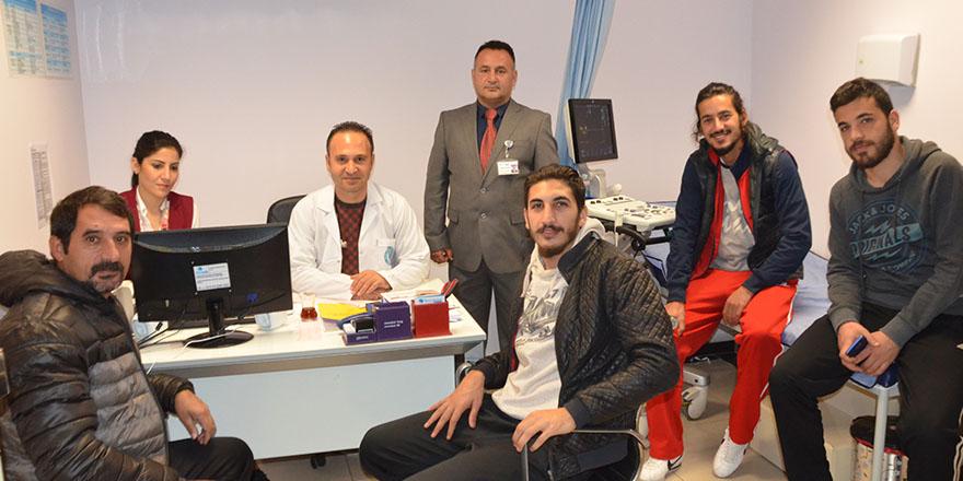 Kemal Bayındır Hastanesinden spora sağlık hizmeti