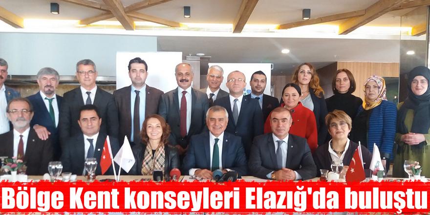 Bölge Kent konseyleri Elazığ'da buluştu