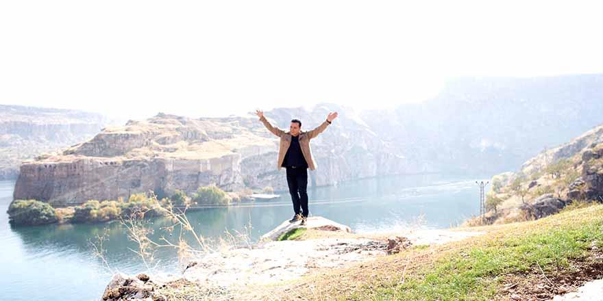Mustafa Uğur Gaziantep'te klip çekti