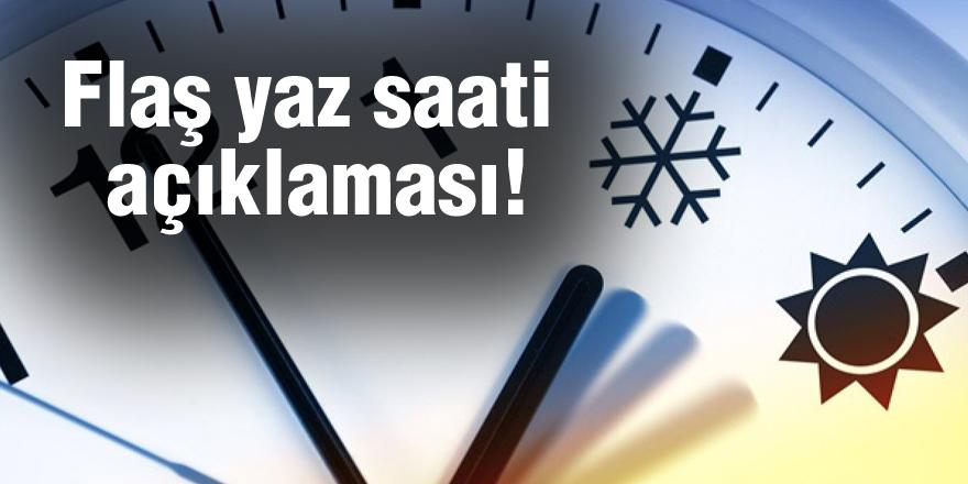 Bakan Albayrak'tan flaş yaz saati açıklaması!