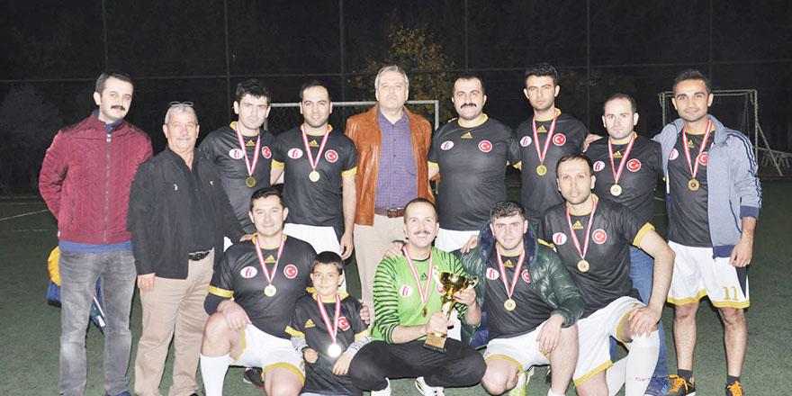 Futbol Turnuvası'nda Vergi İdaresi şampiyon