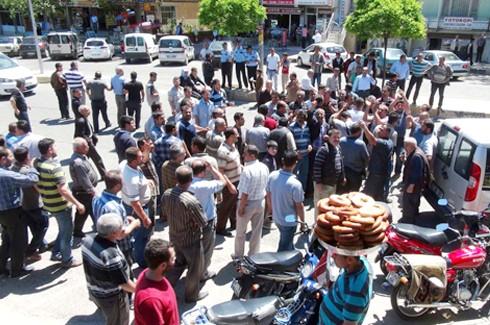 Şahinbey esnafı yine belediyeye yürüdü