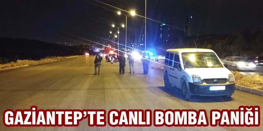 GAZİANTEP'TE 'CANLI BOMBA' PANİĞİ