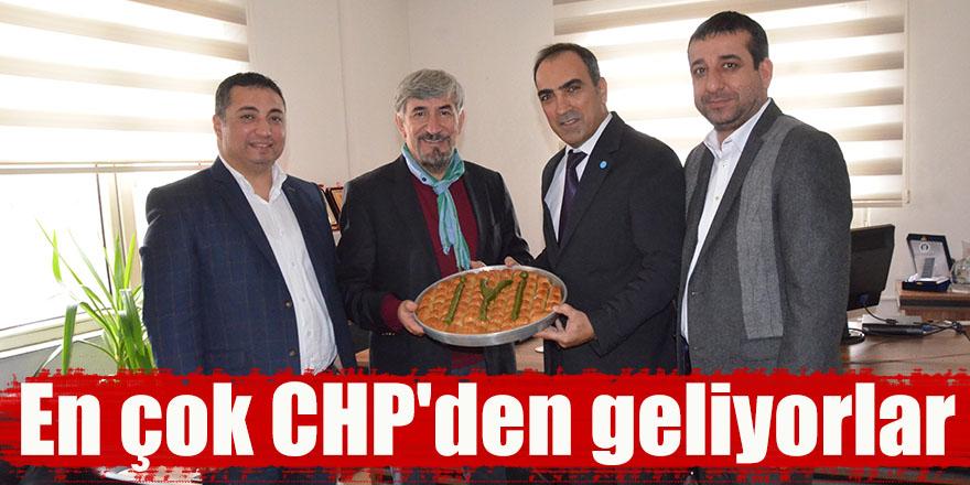 En çok CHP'den geliyorlar